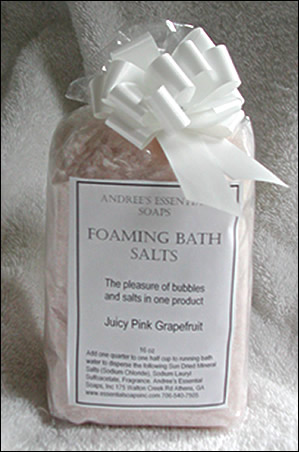 Foaming Bath Salts - Click Image to Close